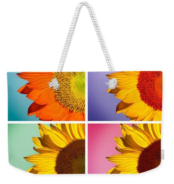 Sunflowers Collage Weekender Tote Bag