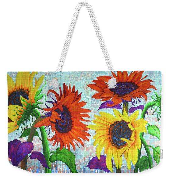 Sunflowers For Elise Weekender Tote Bag