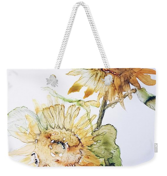 Sunflowers II Uncropped Weekender Tote Bag