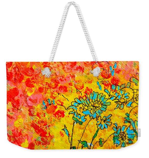 Sunburst Weekender Tote Bag