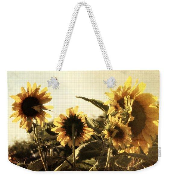 Sunflowers In Tone Weekender Tote Bag