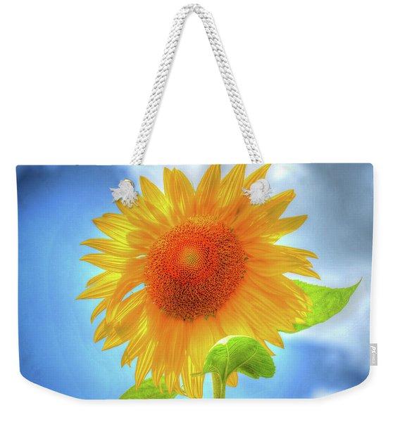 Sunflowers Make Me Smile Weekender Tote Bag