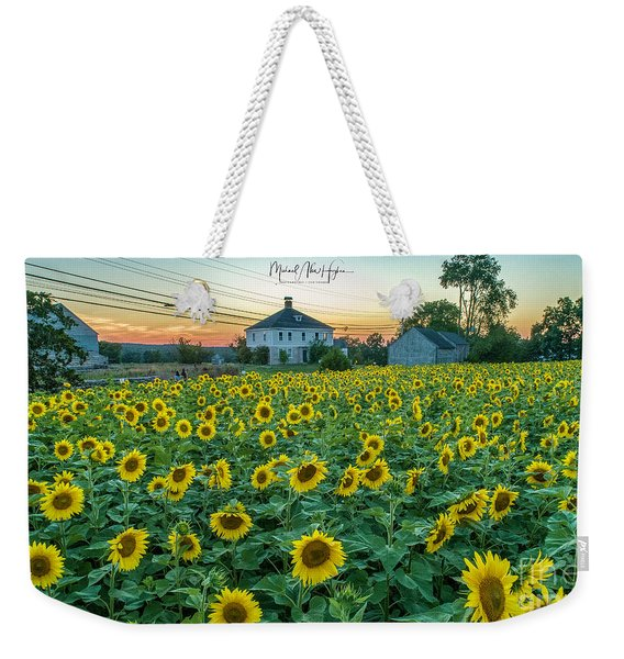 Sunflowers For Wishes  Weekender Tote Bag