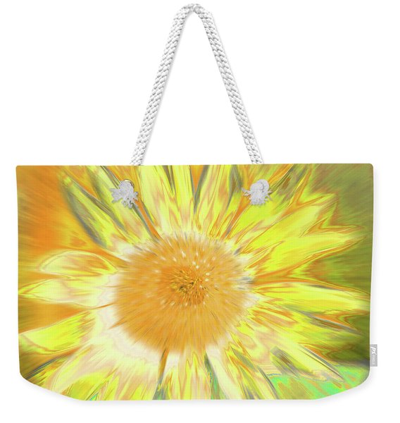 Weekender Tote Bag featuring the photograph Sunking by Cris Fulton