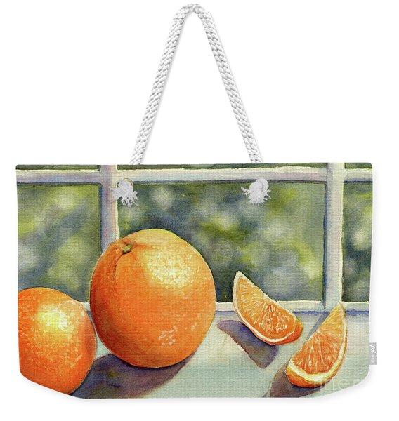 Sunkissed Oranges Weekender Tote Bag