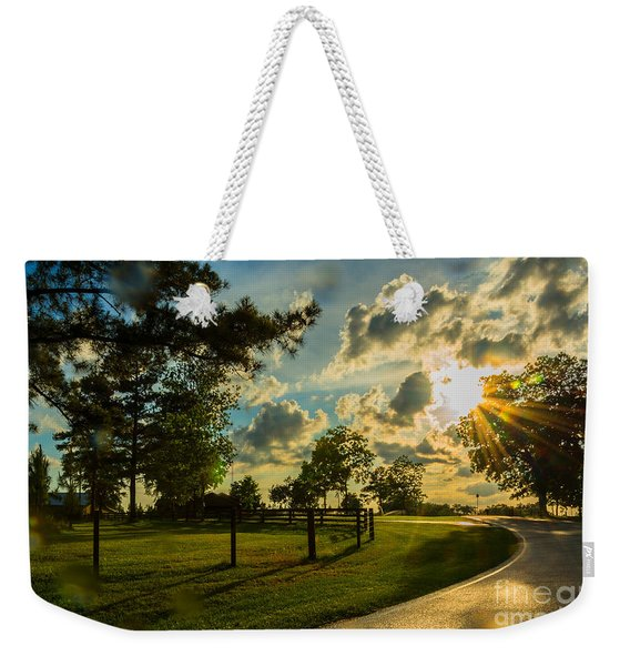 Sunlight Around The Corner Weekender Tote Bag