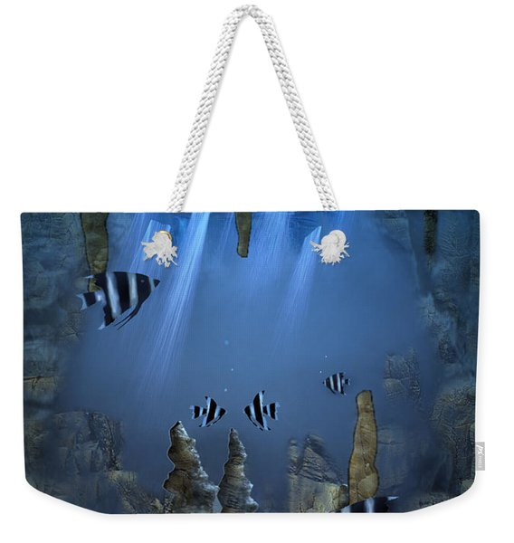 Sunlight From Above Weekender Tote Bag