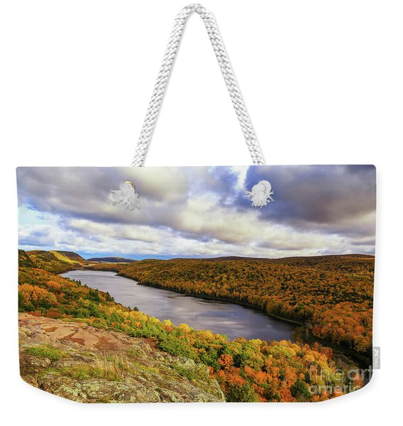 Sunlight On Lake Of The Clouds Weekender Tote Bag