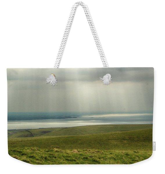Sunlight On The Irish Coast Weekender Tote Bag