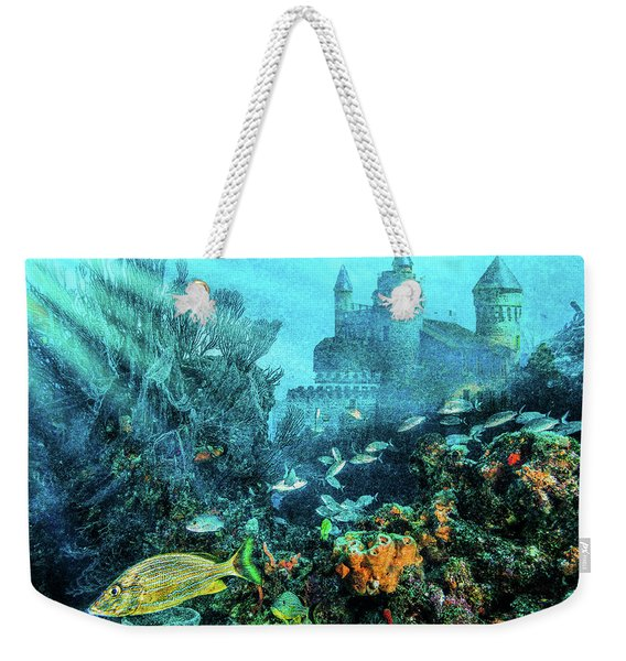 Sunlight On The Reef Weekender Tote Bag