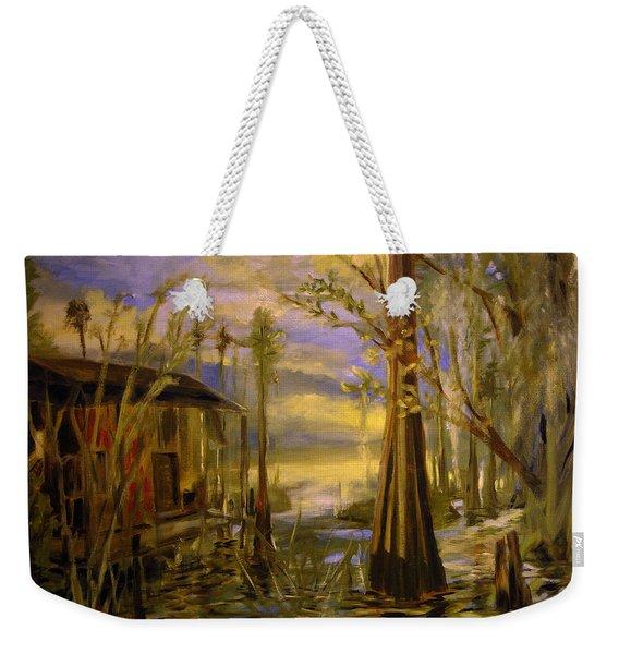 Sunlight On The Swamp Weekender Tote Bag