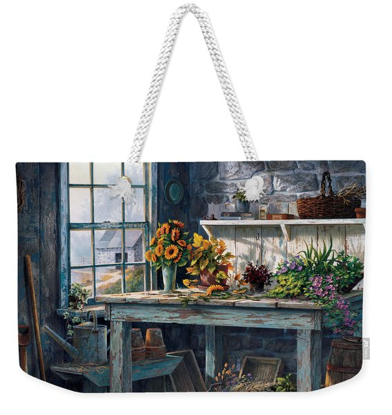Sunlight Suite Weekender Tote Bag
