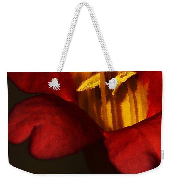 Sunlit Attraction Weekender Tote Bag