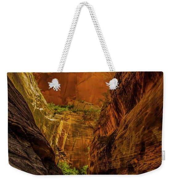 Sunlit Colors In The Slot Weekender Tote Bag
