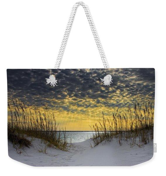 Sunlit Passage Weekender Tote Bag