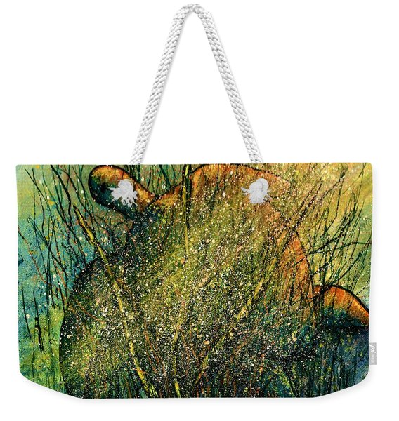 Sunlit Sea Turtle  Weekender Tote Bag
