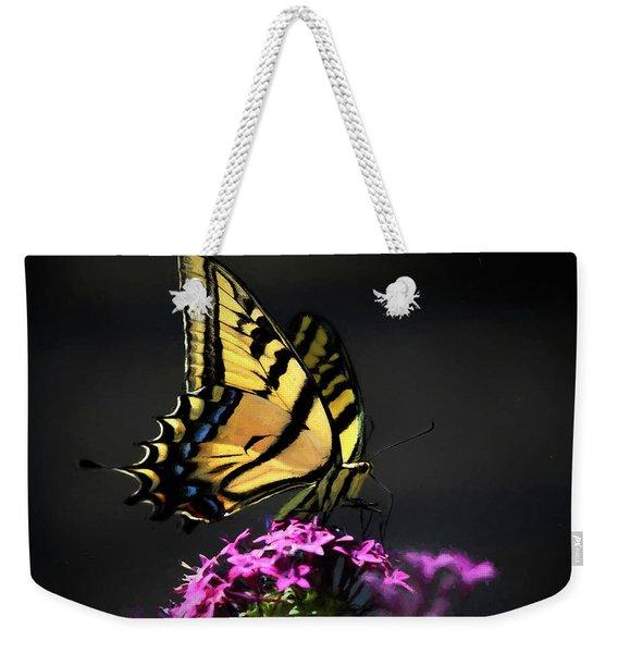 Sunlit Swallowtail Weekender Tote Bag