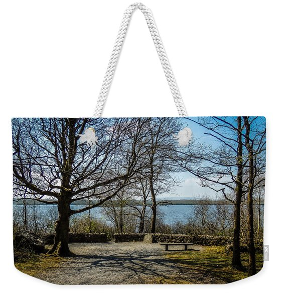 Sunny Afternoon At Lough Coole Weekender Tote Bag