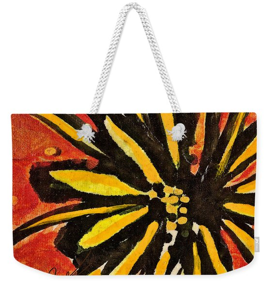 Sunny Hues Watercolor Weekender Tote Bag
