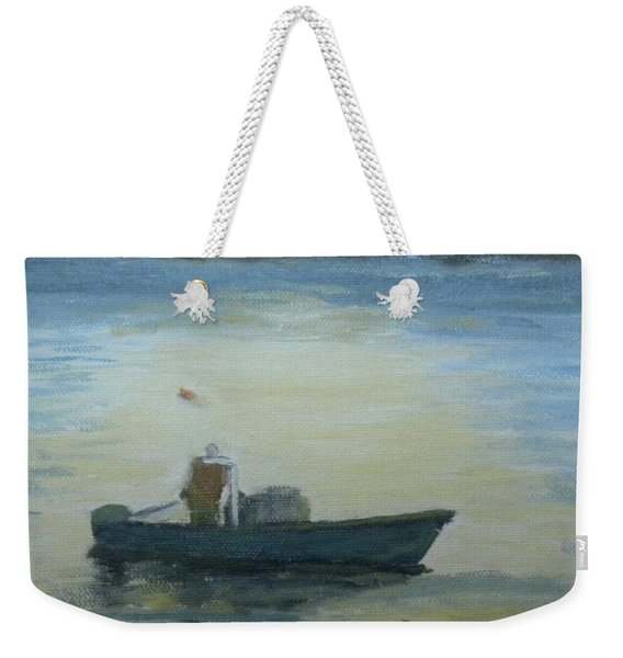 Sunny Morning And Lobster Weekender Tote Bag