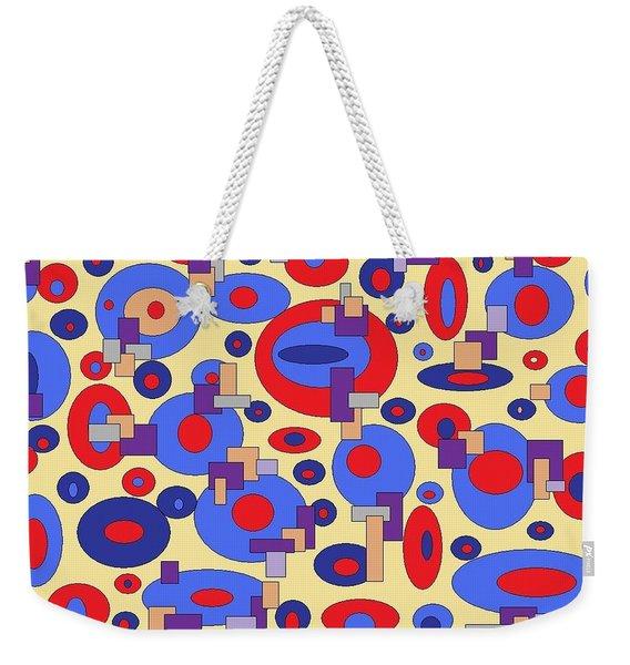Sunny Sea Weekender Tote Bag