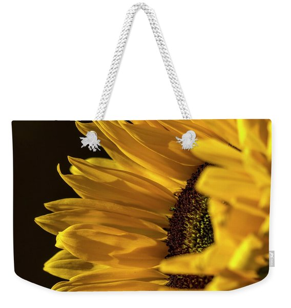 Weekender Tote Bag featuring the photograph Sunny Too By Mike-hope by Michael Hope