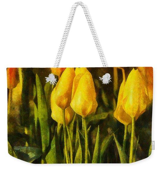 Sunny Tulips Weekender Tote Bag
