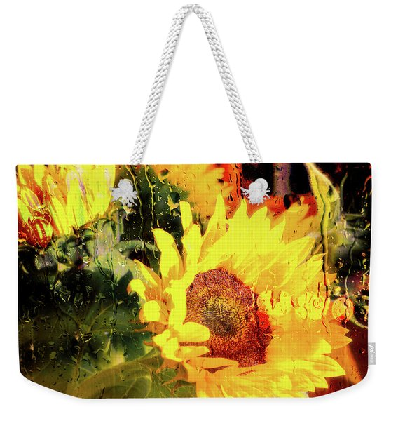 Weekender Tote Bag featuring the photograph Sunny With Showers by Michael Hope