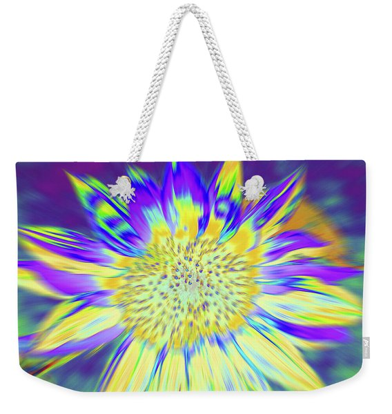 Weekender Tote Bag featuring the photograph Sunpopped by Cris Fulton