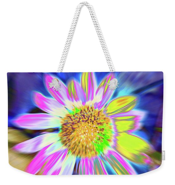 Weekender Tote Bag featuring the photograph Sunrapt by Cris Fulton