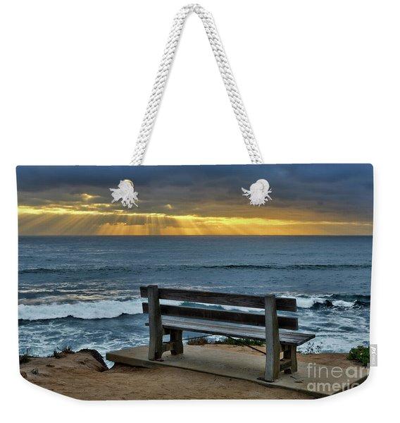 Sunrays On The Horizon Weekender Tote Bag