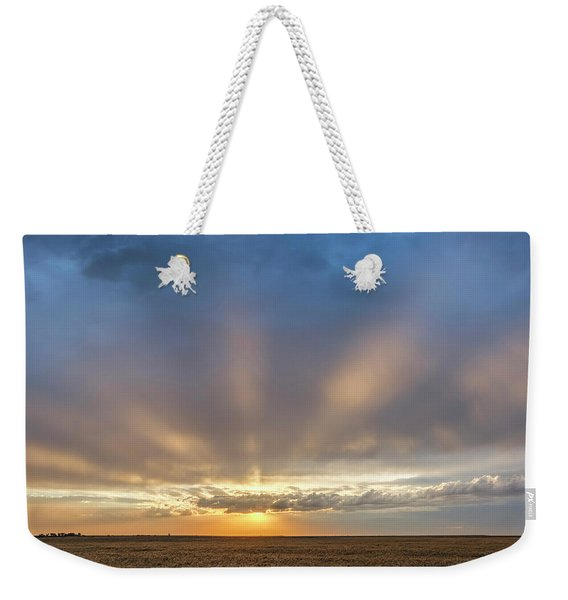 Sunrise And Wheat 03 Weekender Tote Bag