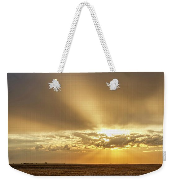 Sunrise And Wheat 04 Weekender Tote Bag