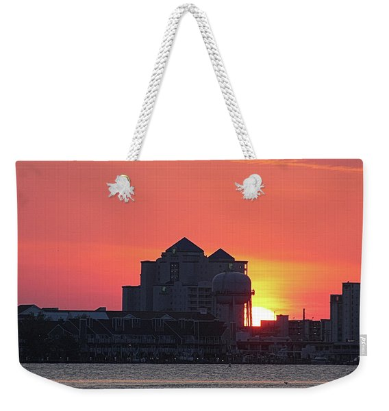 Sunrise At 17th St Weekender Tote Bag