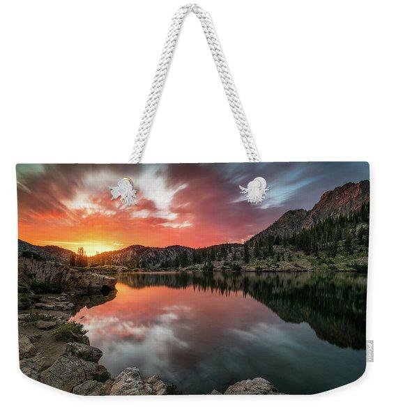 Sunrise At Cecret Lake Weekender Tote Bag