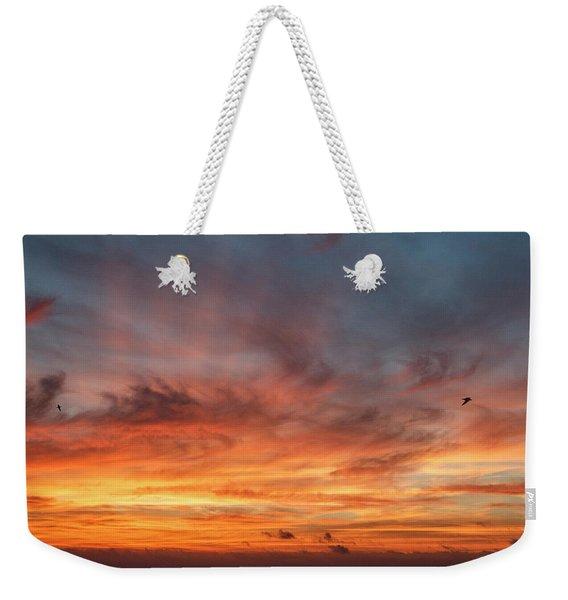 Sunrise At Cheyenne Bottoms 01 Weekender Tote Bag