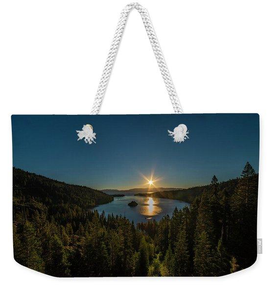 Sunrise At Emerald Bay Weekender Tote Bag