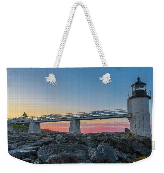 Sunrise At Marshall Point Weekender Tote Bag