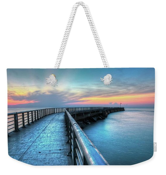 Sunrise At Sebastian Inlet Weekender Tote Bag