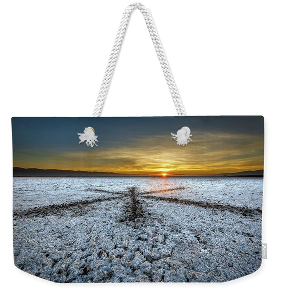 Sunrise At Soda Lake Weekender Tote Bag