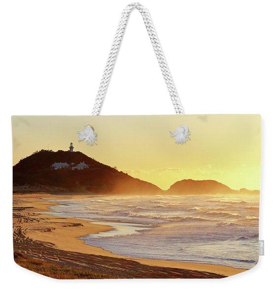 Sunrise At Sugarloaf Point Weekender Tote Bag
