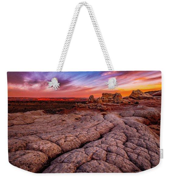 Sunrise At White Pockets Weekender Tote Bag
