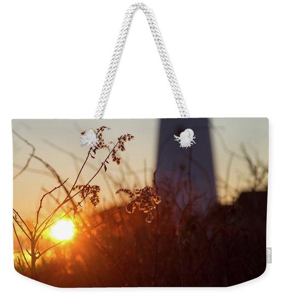 Sunrise Backlight Weekender Tote Bag