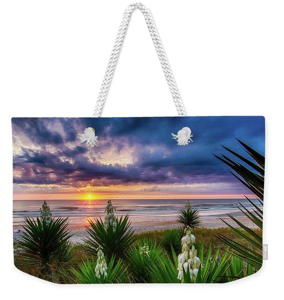 Sunrise Blooms Weekender Tote Bag