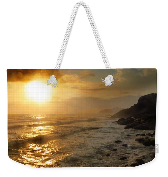 Sunrise By The Rocks Weekender Tote Bag