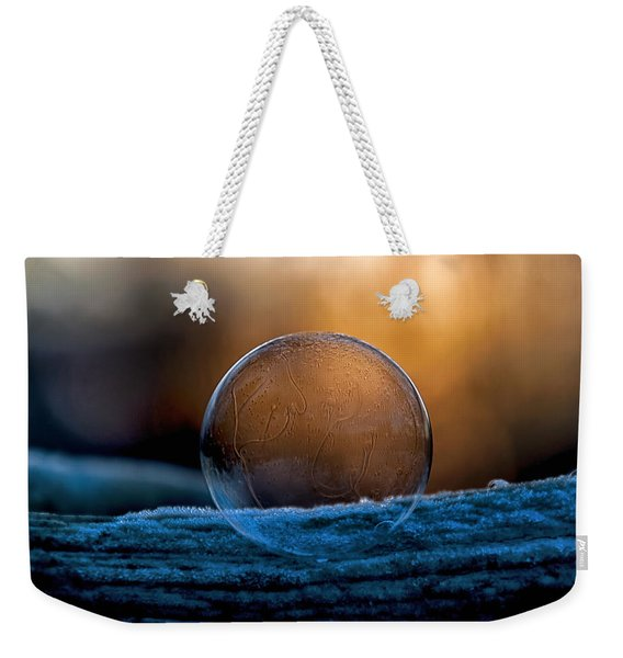 Sunrise Capture In Bubble Weekender Tote Bag
