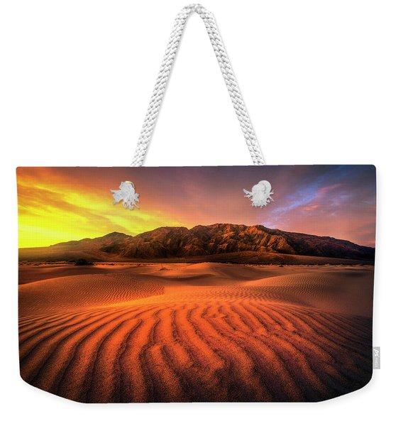Sunrise-death Valley Weekender Tote Bag