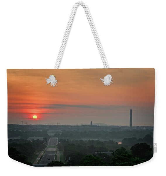 Sunrise From The Arlington House Weekender Tote Bag