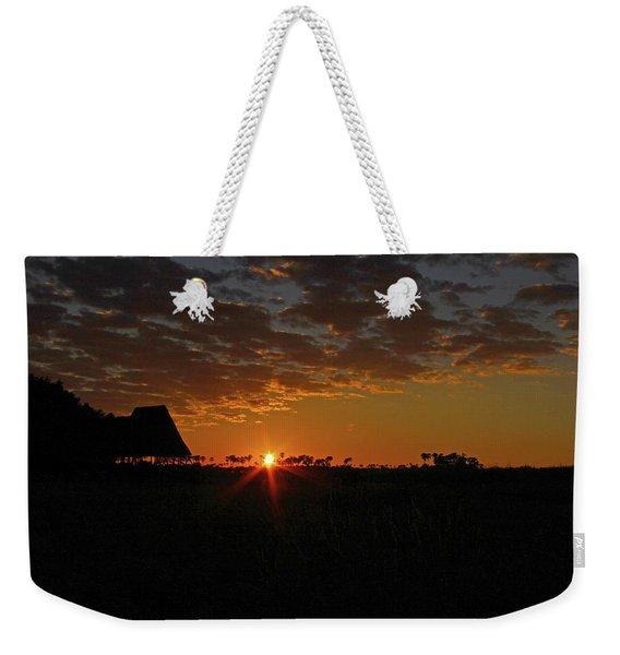 Sunrise In Botswana Weekender Tote Bag