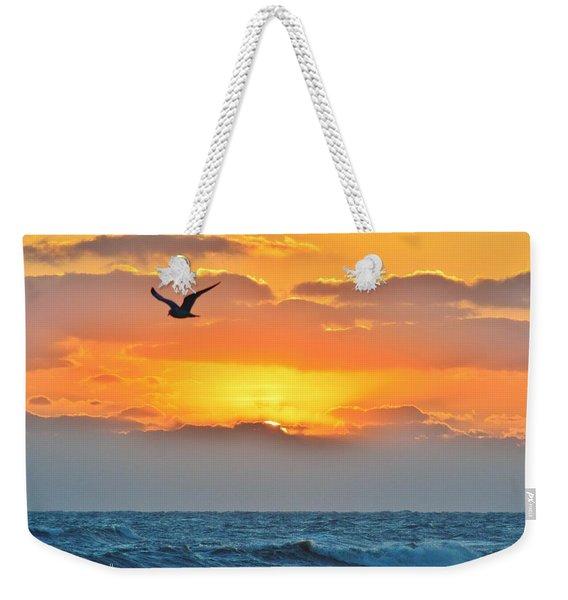 Sunrise In Nags Head Weekender Tote Bag